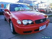 2000 Toyota Corolla AE112R Ascent Seca Red Automatic 4sp A Liftback for Sale