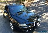 2004 Alfa Romeo 147 2.0 Twin Spark Fire Black Manual 5sp M Hatchback for Sale