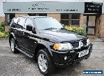 2005 MITSUBISHI SHOGUN SPORT 3.0 V6 AUTO WARRIOR FINISHED IN BLACK for Sale
