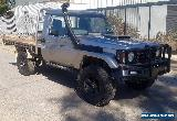 2005 TOYOTA LANDCRUISER HDJ79R TRAY TURBO DIESEL 4X4 LOW KMS LIGHT DAMAGE UTE  for Sale