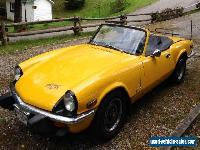 Triumph: Spitfire for Sale