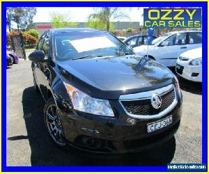 2012 Holden Cruze JH MY12 CD Black Automatic 6sp A Sedan for Sale
