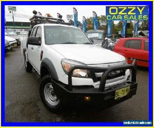 2011 Ford Ranger PK XL (4x4) White Manual 5sp M Super Cab Chassis for Sale