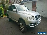 2005 VOLKSWAGEN TOUAREG 3.0 V6 TDI SPORT A SILVER for Sale