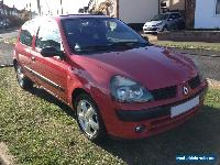 2002 RENAULT CLIO 1.2 DYNAMIQUE **PART EX TO CLEAR** for Sale