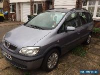 7 SEATER VAUXHALL ZAFIRA DESIGN 16V 1.8 LONG MOT DRIVES PERFECTLY NEW TYRES  for Sale