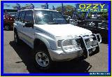 1998 Suzuki Vitara JLX Estate (4x4) White Manual 5sp M Wagon for Sale