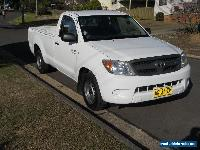 TOYOTA HILUX SR SINGLE CAB MANUAL UTE V6 4.0L STYLESIDE 5/2007  for Sale