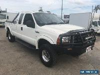 2003 Ford F250 RN XLT (4x4) White Automatic 4sp A Extracab for Sale