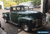 1950 Chevrolet Other Pickups 3100 1/2 Ton for Sale
