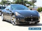 2011 Maserati Granturismo S Black Automatic 6sp A Coupe for Sale