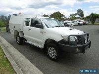 2012 Toyota Hilux KUN26R MY12 SR (4x4) White Manual 5sp M Extracab for Sale