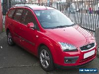 2006 FORD FOCUS ZETEC CLIMATE RED ESTATE FAMILY CAR for Sale