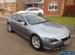 2006 BMW 630I AUTO GREY IMMACULATE  for Sale