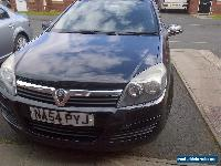 2004 VAUXHALL ASTRA CLUB TWINPORT BLACK 1598cc 1.6  for Sale