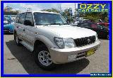 2002 Toyota Landcruiser Prado KZJ95R GXL (4x4) Silver Automatic 4sp A Wagon for Sale