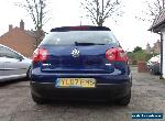 2007 VOLKSWAGEN GOLF MATCH 1.9 TDI FULL SERVICE HIST TOP SPEC NEW CAM-BELT for Sale