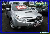 2010 Subaru Forester MY10 XT Premium Silver Manual 5sp M Wagon for Sale