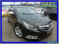 2010 Holden Cruze JG CDX Black Automatic 6sp A Sedan for Sale