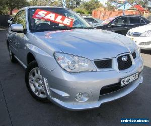 2007 Subaru Impreza MY07 2.0I (AWD) Silver Automatic 4sp A Sedan for Sale