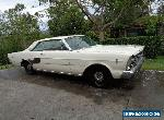 "1966 FORD GALAXIE 2 DOOR FASTBACK 289 C4 AUTO 9"" PROJECT RUNS & DRIVES CA CAR  for Sale"