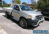2006 Toyota Hilux GGN25R 06 Upgrade SR (4x4) White Manual 5sp M Cab Chassis for Sale