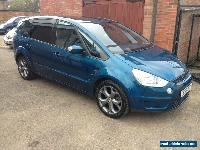 2007 FORD S-MAX TITANIUM TDCI A BLUE VERY HIGH SPEC for Sale