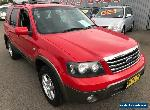 2007 Ford Escape ZC XLT Red Automatic 4sp A Wagon for Sale