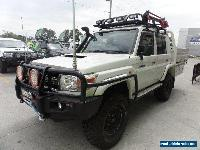 2012 Toyota Landcruiser D-CAB Manual 5sp M Dual Cab for Sale