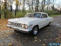 1963 Chevrolet Impala Base Convertible 2-Door for Sale