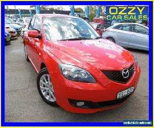 2008 Mazda 3 BK MY06 Upgrade Maxx Sport Red Automatic 4sp A Hatchback for Sale