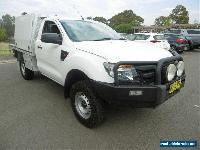 2013 Ford Ranger PX XL 3.2 (4x4) White Automatic 6sp A Cab Chassis for Sale