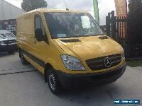 2012 Mercedes-Benz Sprinter 419 CDI LWB HIGH ROOF Yellow Automatic A Van for Sale