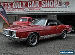 1972 Ford Galaxie LTD Maroon Automatic 3sp A Convertible for Sale