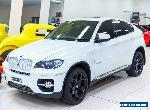 2009 BMW X6 E71 xDrive 35D White Automatic 6sp A Coupe for Sale