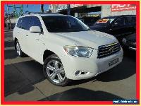 2007 Toyota Kluger GSU45R Grande White Automatic 5sp A Wagon for Sale