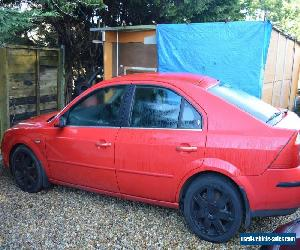 2004 FORD MONDEO GHIA X 24V AUTO RED for Sale