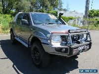 2009 Nissan Navara D40 RX Grey Manual 6sp Manual 4D UTILITY for Sale