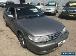 2003 Saab 9-3 MY03 Turbo 2.0T Grey Automatic 4sp A Convertible for Sale