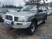 2001 Nissan Patrol GU II ST (4x4) Gold Manual 5sp M Wagon for Sale