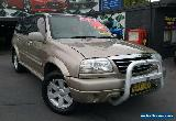 2001 Suzuki XL-7 JA627 (4x4) Gold Automatic 4sp A Wagon for Sale