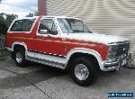 Ford  Bronco  1985  4X4   2ND  OWNER. for Sale