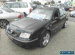 2003 Volkswagen Bora 1J V6 4Motion Black Manual 6sp M Sedan for Sale