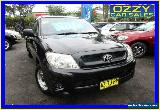 2008 Toyota Hilux GGN15R 07 Upgrade SR Black Automatic 5sp A Dual Cab Pick-up for Sale