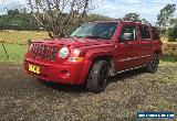 2008 JEEP PATRIOT 4X4 AUTO 4WD (not toyota holden ford nissan mitsubishi) for Sale