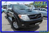 2007 Toyota Hilux KUN26R 06 Upgrade SR5 (4x4) Black Manual 5sp M Extracab for Sale