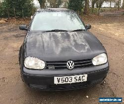 2000 VOLKSWAGEN GOLF GTI 2.0 BLACK for Sale