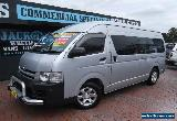 2009 Toyota Hiace KDH221R MY07 Upgrade SLWB Silver Manual 5sp M Van for Sale
