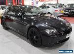 2005 05 BMW 6 SERIES 3.0 630I 2D AUTO 255 BHP for Sale