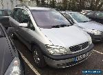 2002 OPEL  ZAFIRA 1.8 ELEGANCE AUTO SPARES OR REPAIR 166K for Sale